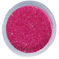 Polvere Glitter Rosa Fluo